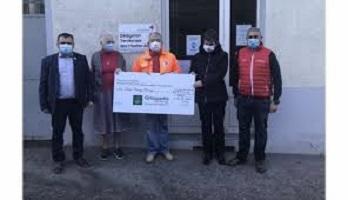 Don à la Croix-Rouge des Hautes-Alpes