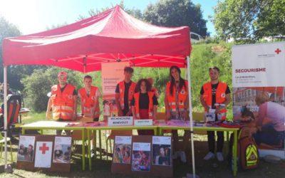 La Croix-Rouge française de Gap présente au SNU d'Ancelle